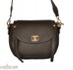 Women's bag 35569 dark brown 0