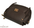 Women's bag 35569 dark brown 5