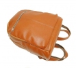 Leather backpack 2523 brown 1