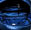 Leather backpack 2523 blue 5