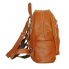Leather backpack 2523 brown 3
