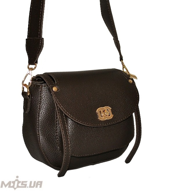 Women's bag 35569 dark brown